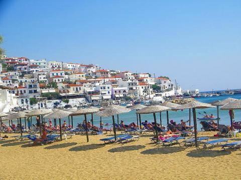 The beach of Batsi