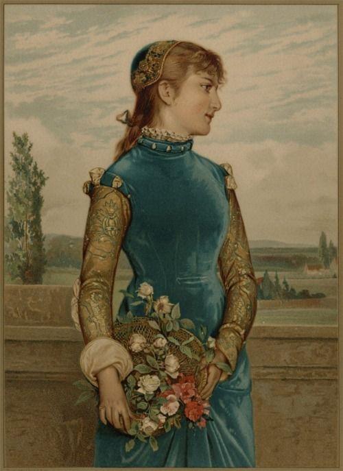 by Gabriel Schachinger (German 1850-1912)