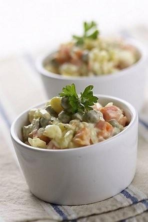 Salatka Jarzynowa Polish Vegetable Salad
