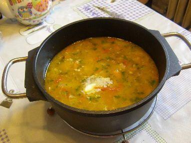 Zeleninová polévka á la Balkán