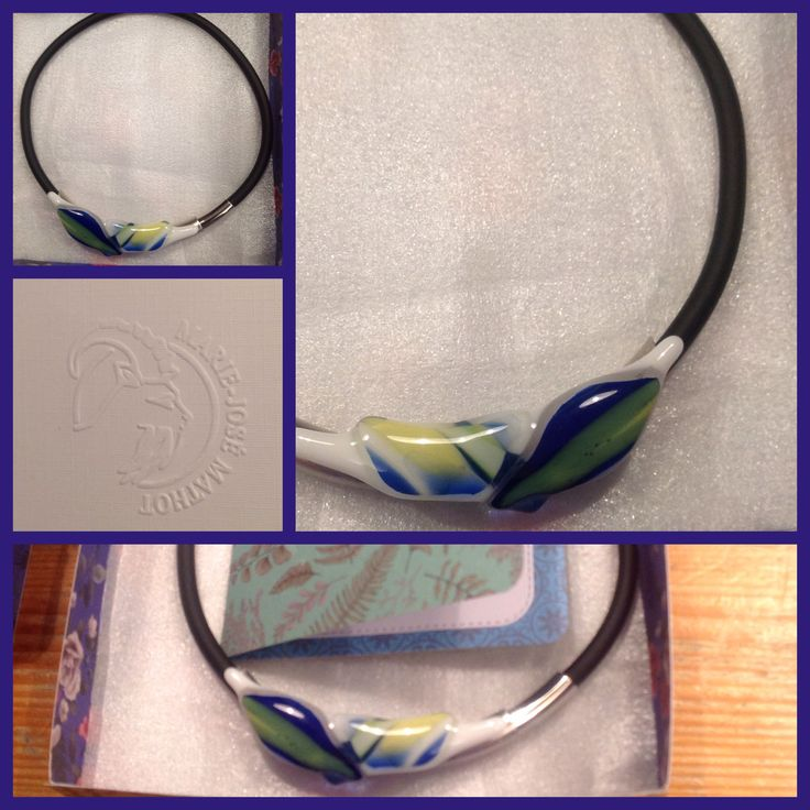 Glasfused choker for Zakia