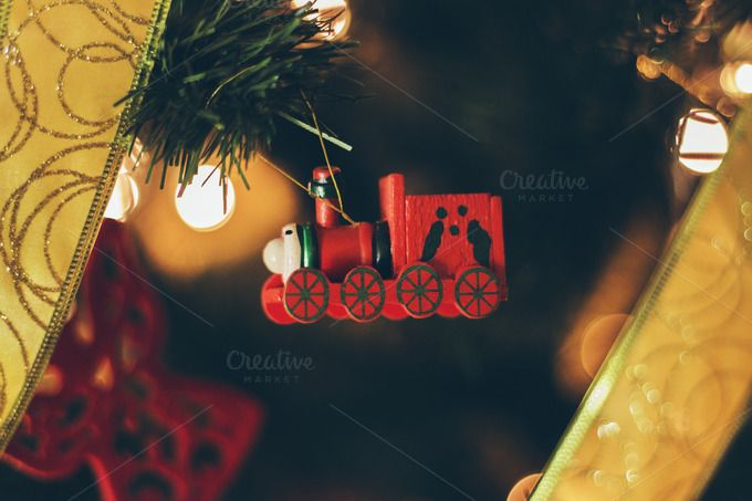Check out Christmas decorations 6 by Pixelglow Images on Creative Market