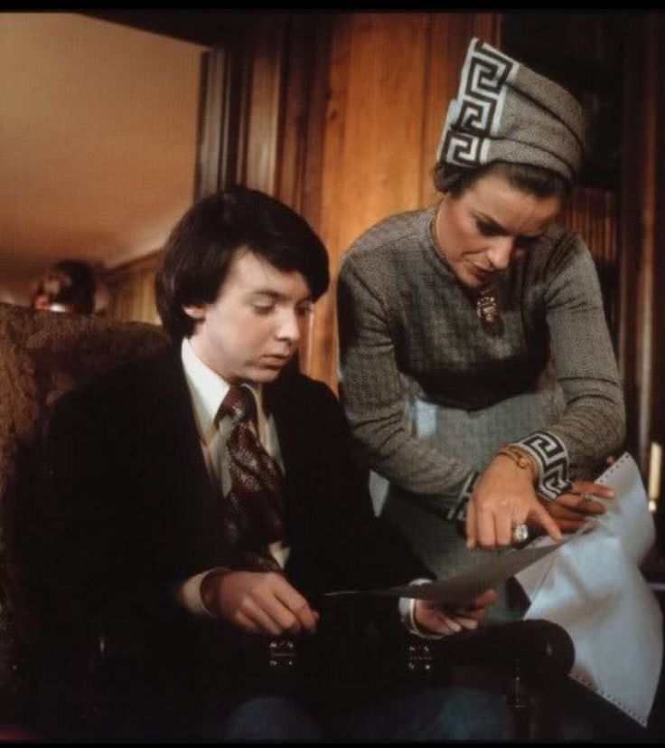 Harold and Maude 1971. Bud Cort and Vivian Pickles