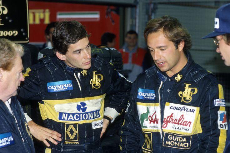 Ayrton Senna & Elio de Angelis