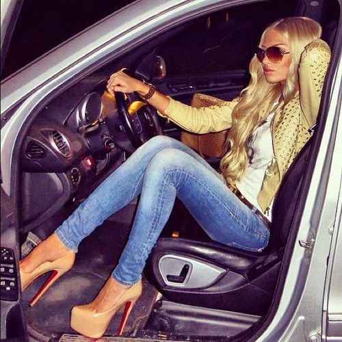 Driving Luxury Car: Hot Jetset Girls Love Driving Their Luxury Cars. See More
