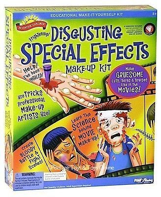 Disgusting Special Effects Make-Up Kit: Toy Halloween AU $15