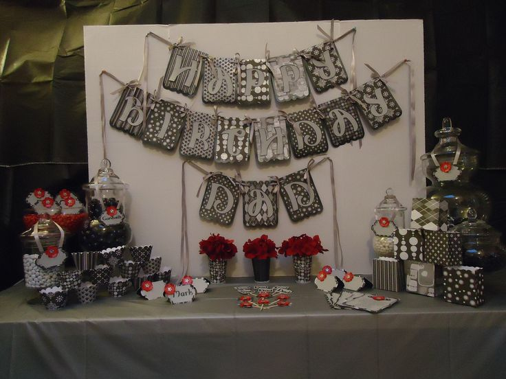 107 best images about party ideas on pinterest birthday for 50th birthday party decoration ideas diy
