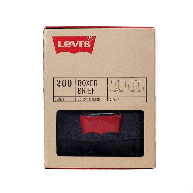 Levi's Basics Underwear Packaging Boasts Additional Uses #marketing trendhunter.com