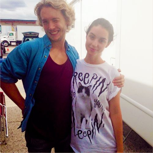 I swear if I could pick the people to play Gwyn and Luke, it would be these two. Toby and Adelaide.