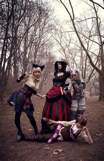 Steampunk Alice in Wonderland by Melina (Chibi-MeNanA)