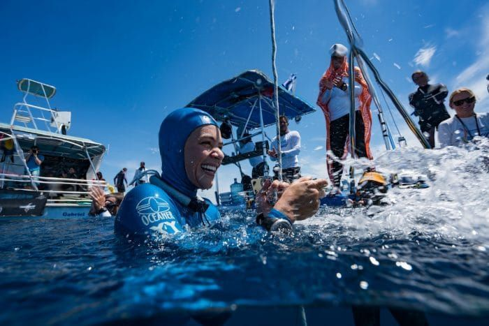Freediver Sofia Gomez Uribe Named Univision's Extreme Sports Athlete Of The Year https://www.deeperblue.com/sofia-gomez-uribe-named-univisions-extreme-sports-athlete-year (Freediving)