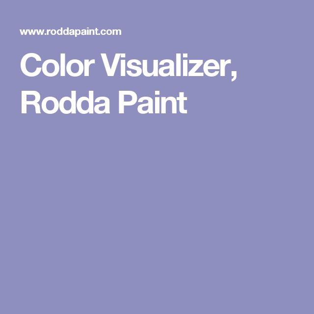 Rodda Paint Color Visualizer