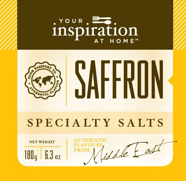 Delicate blend of lively fresh citrus and rich saffron to use in rice, seafood, chicken and salads.