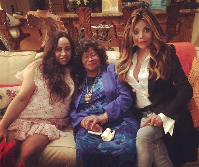 Brenda Richie, Katherine Jackson, LaToya Jackson