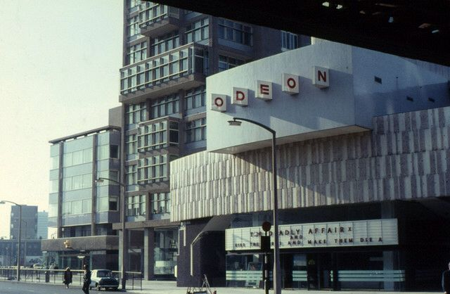 The Odeon, Elephant and Castle Erno Goldfinger. Built 1967 demolished 1988