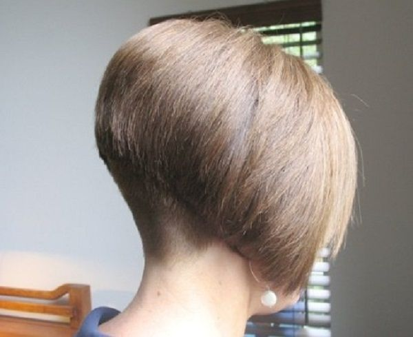 how to cut an inverted bob yourself