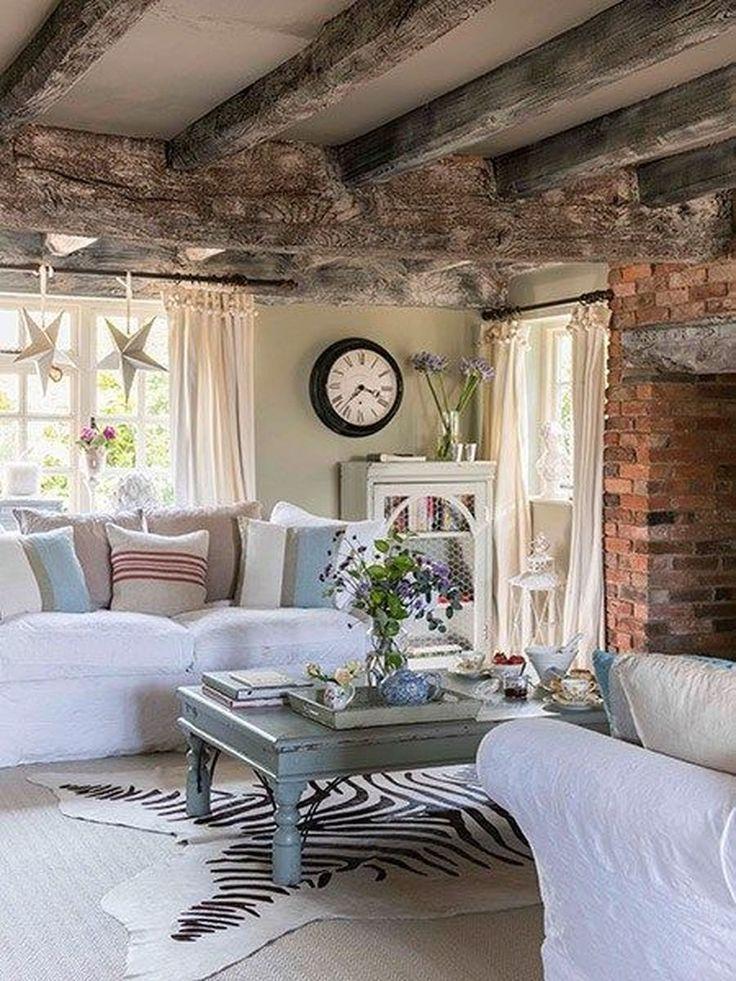 20 Marvelous Rustic Living Room Decoration Ideas Trenduhome Cottage Living Rooms Farm House Living Room Living Room Decor Rustic