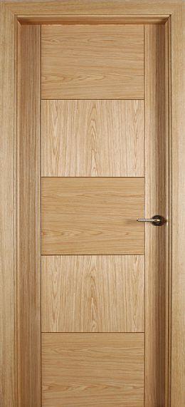 Monza White Oak Door (40mm)