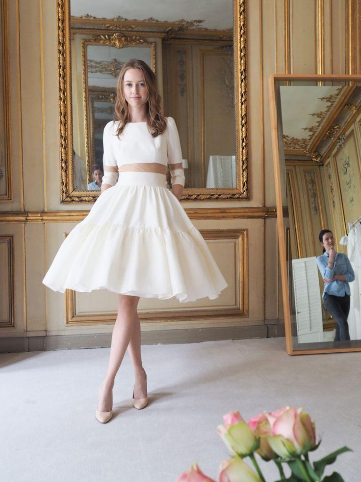 Robe de mariée Delphine Manivet: la nouvelle collection  Sarah ...