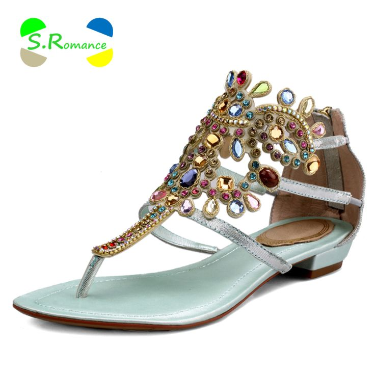 Cheap women sandals, Buy Quality rhinestone flats directly from China sandals women genuine leather Suppliers:       Women Ankle Boots Plus Size 34-43 Lace Up Med Square Heel High Quality Stylish Classic Hot Sell Woman Fashion Wint