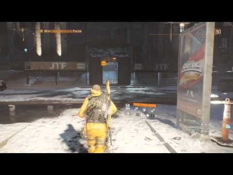 Tom Clancy's The Division - Dark Zone - wbijanie  mietka na 50 sl ;)