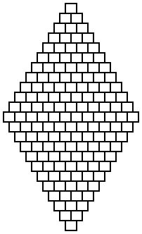Diamond brick stitch patterns  #Seed #Bead #Tutorials