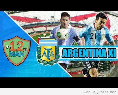 World cup 2014 Argentina Team Wallpapers Images and Photos Free Use by www.geniusquotes.net