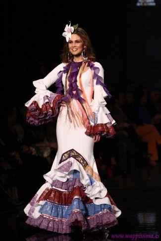 Traje de Flamenca - Aurora-Gavino - SIMOF-2013