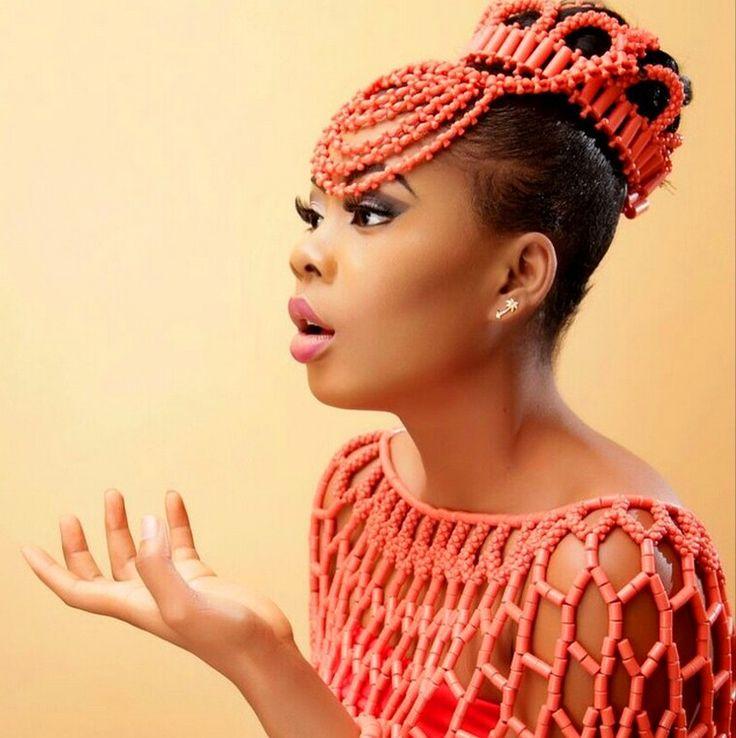 Igbo Nigerian Wedding: Coral Beads Jewelry Nigerian Weddings: A Collection Of