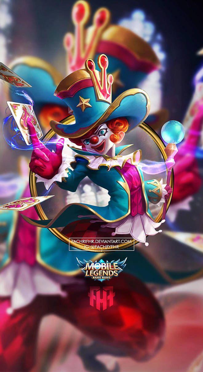 Wallpaper Phone Harley Naughty Joker By Fachrifhr Mobile Legend Wallpaper Alucard Mobile Legends Mobile Legends