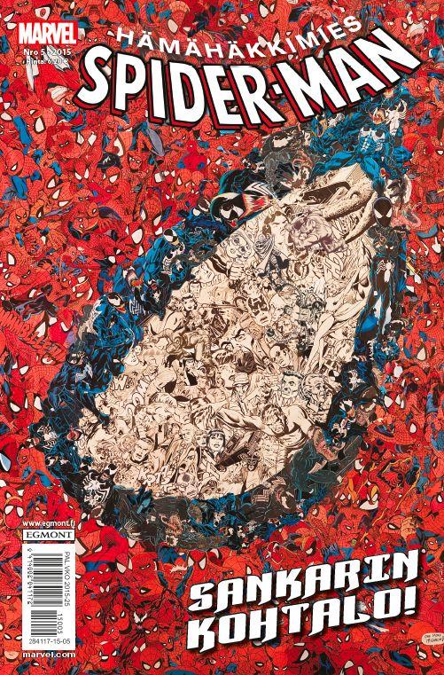 Hämähäkkimies - Spider-Man nro 5/2015. #sarjakuva #sarjakuvalehti #sarjis #egmont #marvel