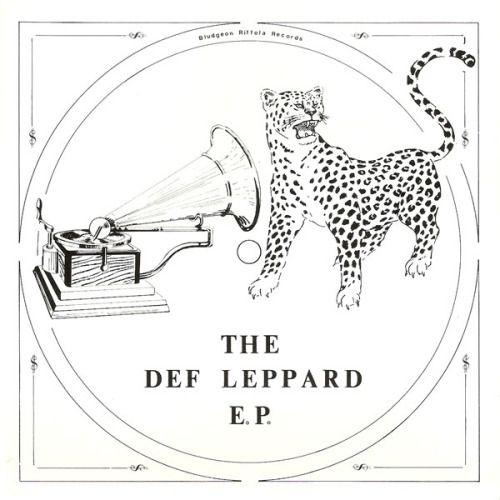 Def Leppard 1979 The Def Leppard E.P.  release date January 02, 1979