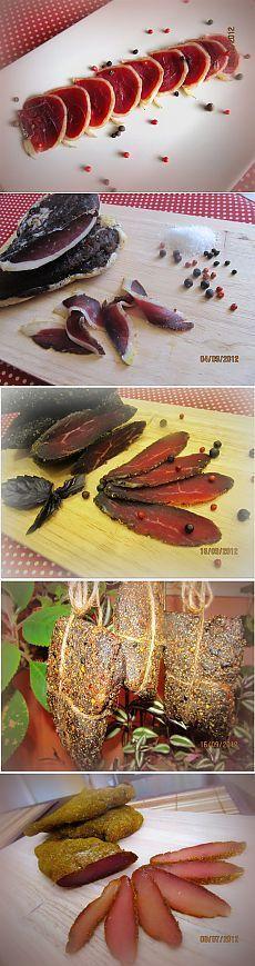 Деликатесное ассорти из вяленого мяса к праздничному столу.