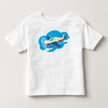 Airplain Toddler T-shirt - tap to personalize and get yours