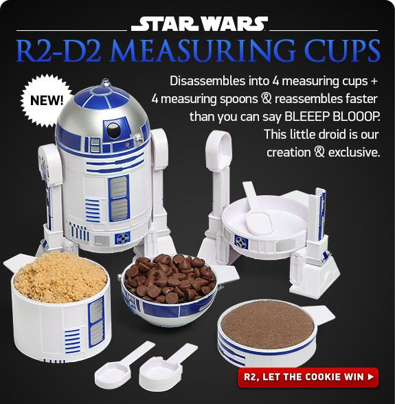 Star Wars R2D2 Measuring Cup Set
