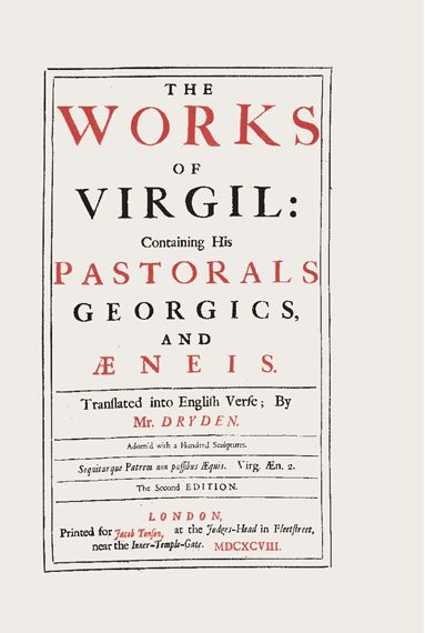 The Works of Virgil, 1698. via Thinking with Type