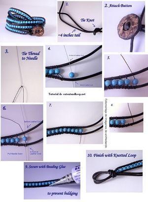 海外の簡単で可愛い『DIY Bracelet』画像と動画でわかる手作りブレスレットの作り方 - NAVER まとめ