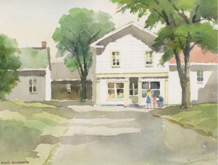 Tom Roberts; Summer Morning, Bridgetown