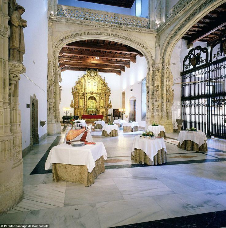 Spain's Parador Santiago de Compostela dates back to 1499, when it was built as a royal hospital