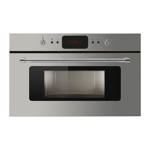 IKEA - VÅGAD, Magnetron, Gratis 5 jaar garantie. Raadpleeg onze folder voor de garantievoorwaarden.Magnetron met diverse functies, van ontdooien en opwarmen tot het bakken van een knapperige pizza of het bruin laten worden van kip.Met de crispfunctie bak je in 7 minuten een luchtige cake of in 12 minuten een taart met een knapperige bodem.De combinatiegrill verwarmt snel op een hoge temperatuur voor het snel bereiden van bijvoorbeeld mooi gekleurde ovenschotels.Jet start-functie voor snelle…