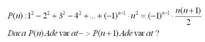 mathematical induction examples with solution - example 9