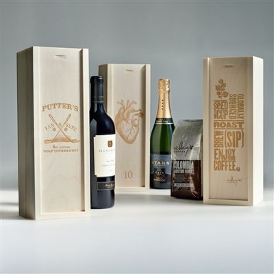 CUSTOM CORPORATE BOX - Perfect for Thank You gifts, Product & Event Promotions, Performance Awards and Holiday Gifts.