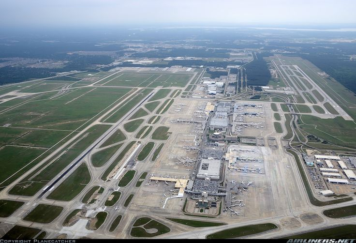 Houston - George Bush Intercontinental (IAH / KIAH). Airport.