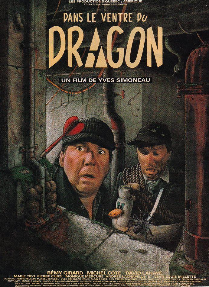 Yvan Adam - Dans le ventre du dragon, Yves Simoneau, 1989