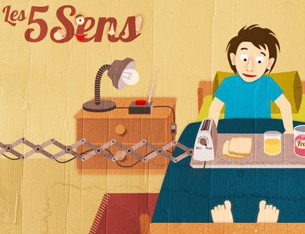 Les cinq sens : activité interactive | TICE's FLE | Scoop.it