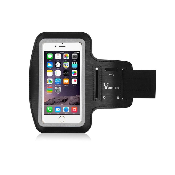 Vemico iPhone 6 Armband Sport Armband with Key Holder and Reflective Band for iPhone 6/6S (4.7-Inch) Galaxy S3/S4, iPhone 5/5C/5S (black). Design: Vemico exercise armband built in key holder to help minimize carrying extra items while you exercise. The night reflector is designed to provide additional visibility for outdoor early morning and evening runs. Features: Vemico sports armband is equipped with headphone and charging slots, retain full touch screen function. So it's the ideal...