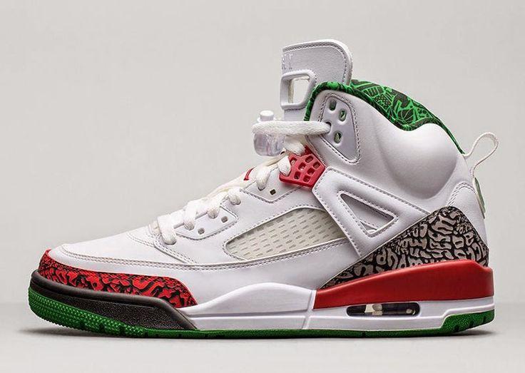 Nike Air Jordan Spiz'ike 'OG' White/Cement Grey-Classic Green