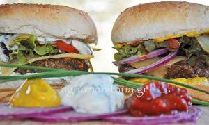 Νηστίσιμο Burger μανιταριών
