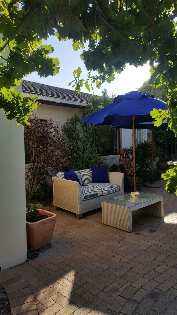 Outdoor Cushions and Umbrella  - Made by IVR Interiors & Décor