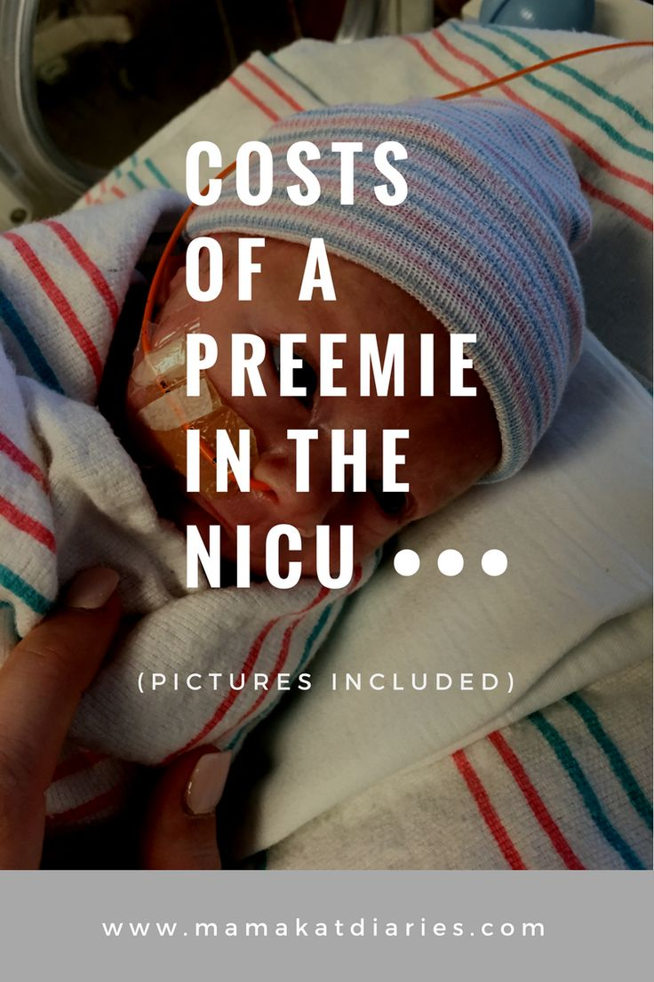 When I had my daughter at 32 weeks, I had no idea what the cost of my care would be, let alone my daughter's 28-day NICU stay. There was not much information on the Internet. Read here to find out the costs of a preemie in the NICU: http://www.mamakatdiaries.com/2017/05/03/costs-of-a-preemie-in-the-nicu-pictures-of-costs-included/ #preemie